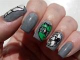 Green Ranger nails
