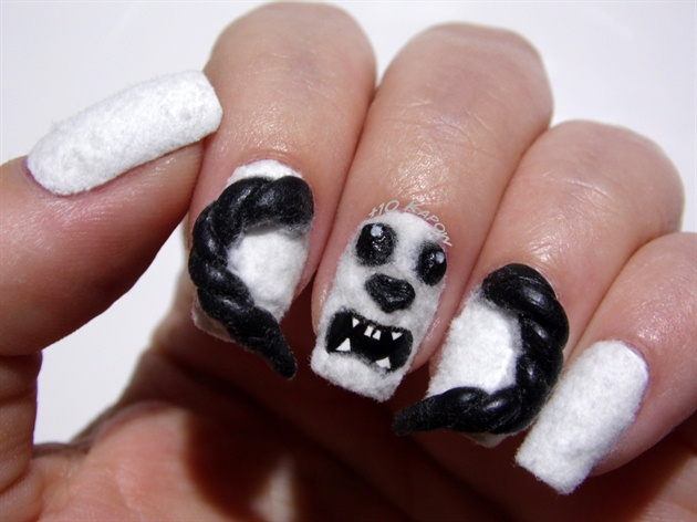 Star Wars Wampa Nails