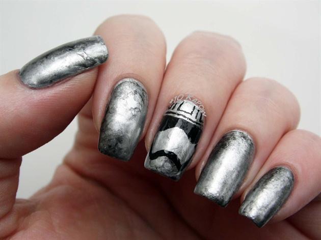 Captain Phasma Nails