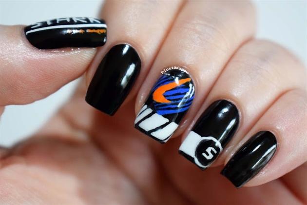 Stark Racing Nails