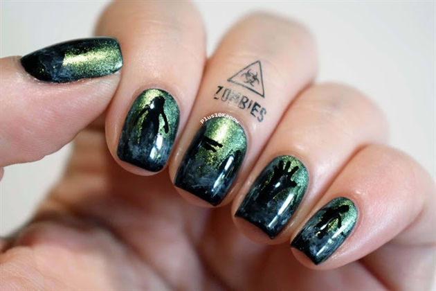 B-Movie Zombie Nails