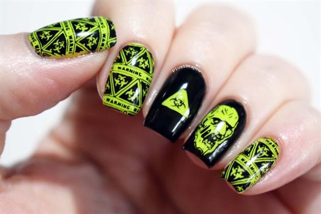 Biohazard Zombie Nails