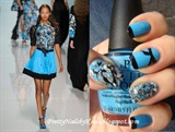 EMANUEL UNGARO inspired nails