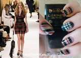 SONIA RYKIEL inspired nails