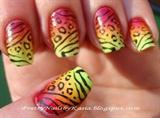 Leo Gradient Nails
