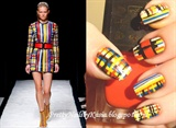 BALMAIN inspired nails