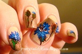 Cornflowers Nails