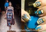 VALENTINO inspired nails