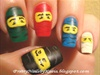 Lego Ninjago nails