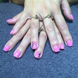 Acrylic Nails With Gelish Polish