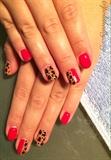 Leopard Gel Mani