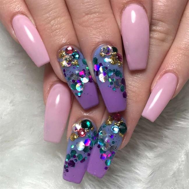 Mermaid Nails - Nail Art Gallery