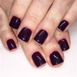 Vampy Fall Nails