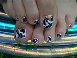 Cowhide Toes