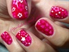 Pond Manicure (Flowers, Glitter & Jelly)