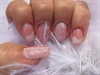 Nail Art Dentelle Perles Idée Mariage