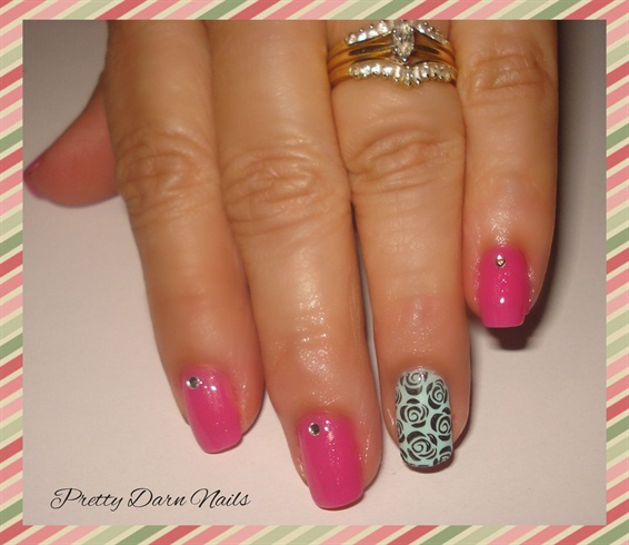 Roses using Stamping Plate
