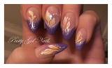 Purple gel by Ilona