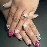 Pretty pink animal