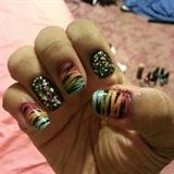 Raindow tigers and sparkles