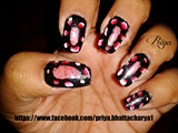 dark nails...