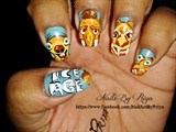 ice age movie nails