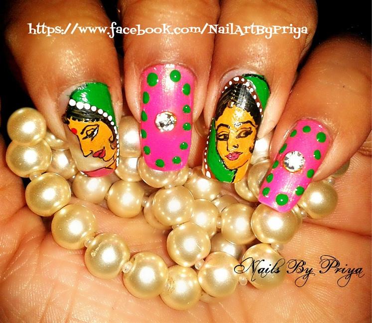 indian nails - Nail Art Gallery