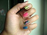 Tri color mosaic