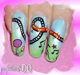 Theme Park Nails