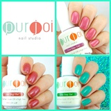 Purjoi Nail Studio Color Swatch