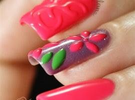 Step by Step 3D nail art
