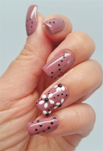 Color Is Called Quot Mauve Over Quot Nail Art Gallery