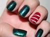 quick xmas nails