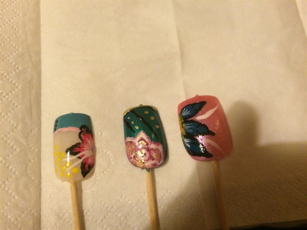 Nail art example 5