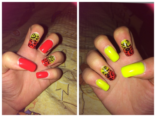 Red and Yellow 💅🏻