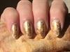 Glimmering Sun Nails