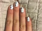 Lucky Silver Clovers