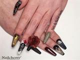 Grandads Funeral Nails