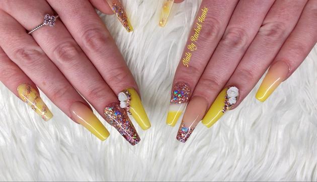 Acrylic Nails Spring Vibes Nail Art Gallery