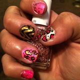 Leopard Print Hearts!!
