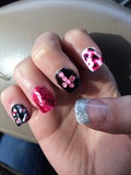 Glitter, Crosses, Leopard Print!!