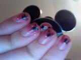 Disneyland Inspired - SHORT NAILS!