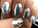 Weird Al Foil Nails