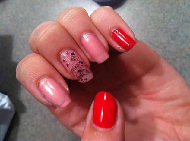 Random Pink/Red Glitter