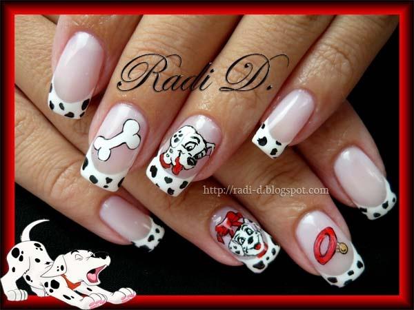101 Dalmatians Nail Art Gallery