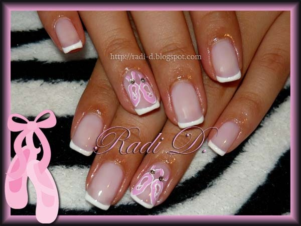 Ballet Shoes Nail Art Gallery
