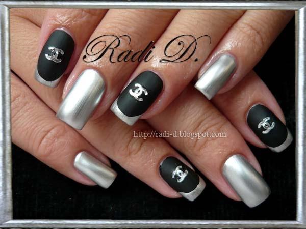 Mirror nails nail art gallery mirror nails prinsesfo Choice Image