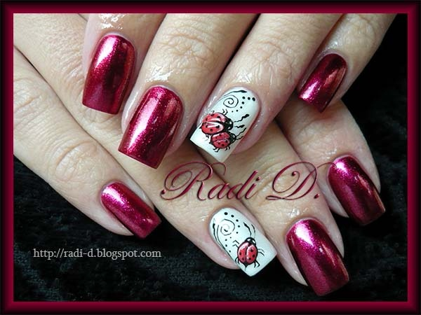 3D Ladybugs :)