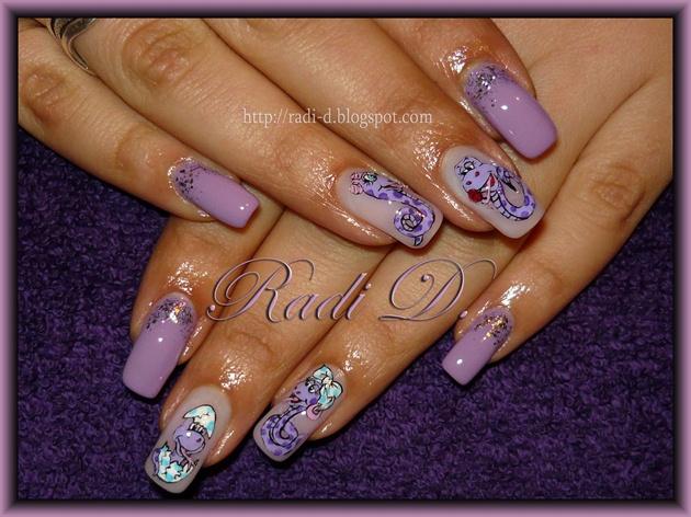 Purple Snakes