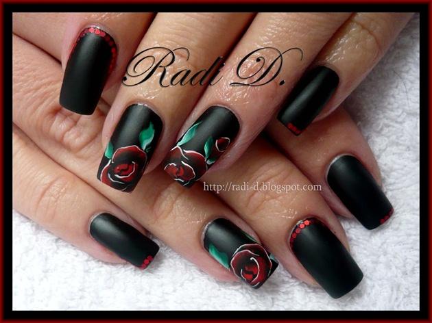 Black matte & Rose